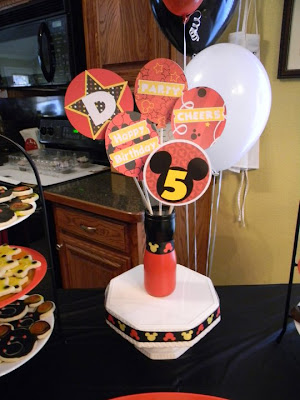 The Russo Corner Devin S 5th Bash Mickey Mouse Style