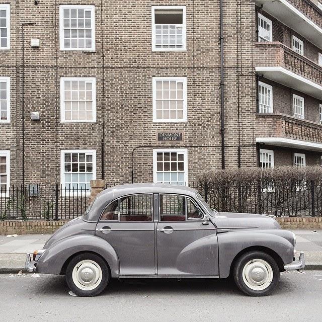 Car Vintage London Street