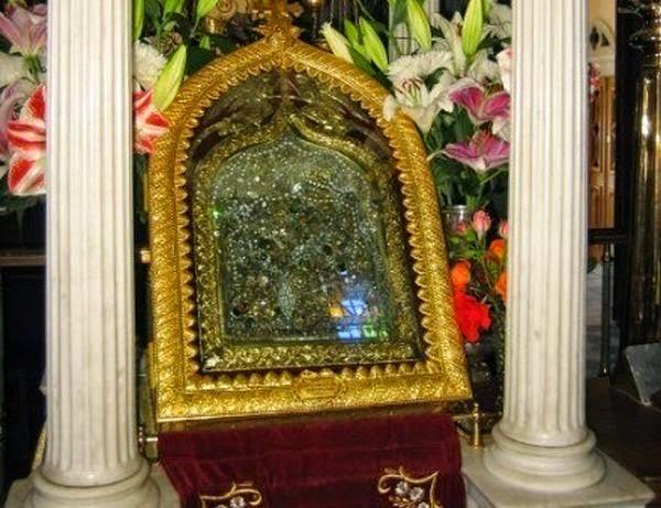 Αποτέλεσμα εικόνας για Ανάμνησις ευρέσεως εν Τήνω της ιεράς εικόνος της Ευαγγελιστρίας