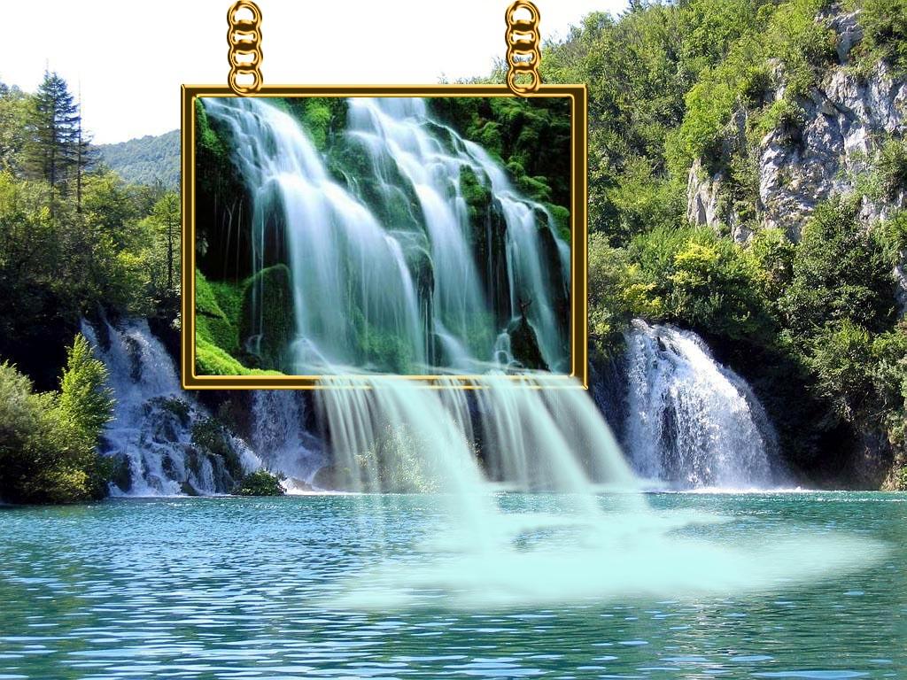 Manipulasi Gambar Air Terjun dengan Adobe Photoshop