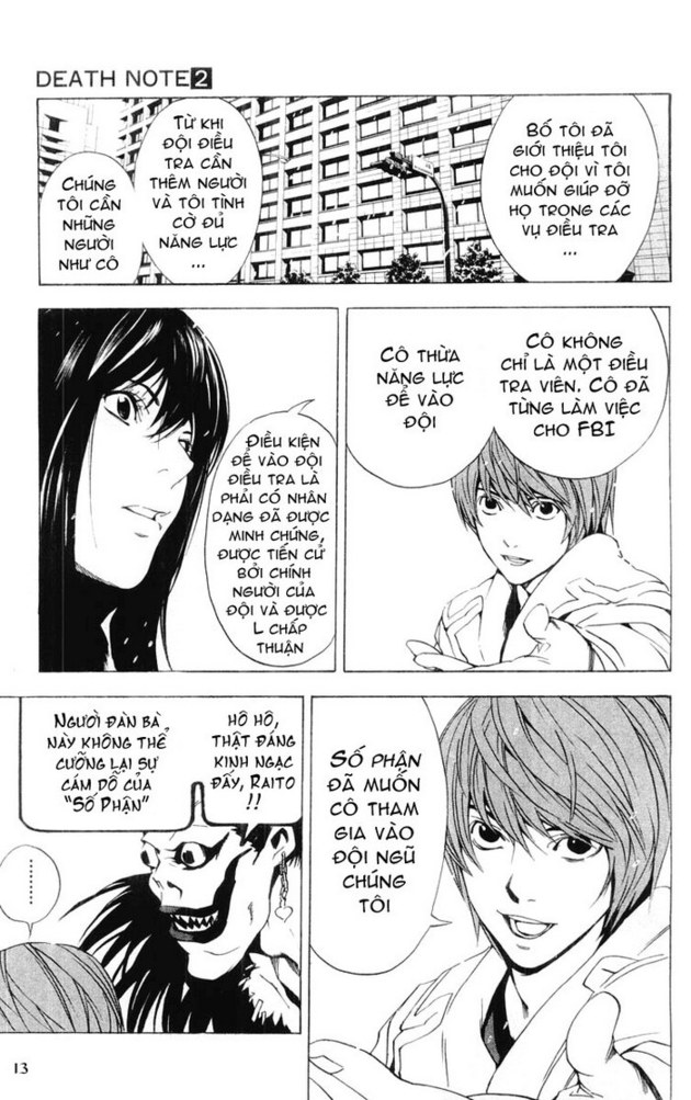 Death Note chapter 014 trang 14