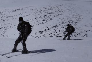 Εντυπωσιακη η Χειμερινή Εκπαίδευση της Στρατιωτικής Σχολής Ευελπίδων