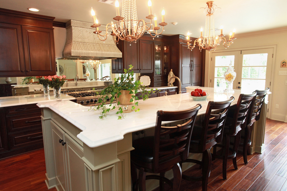 New Orleans Kitchen >> The Art of the Kitchen: A Luxurious New Orleans Kitchen
