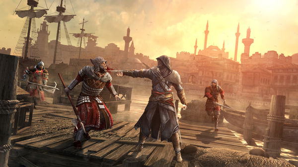 Assassins Creed Revelations Game Play of PC