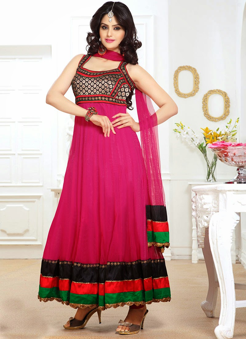 New Fashion Exuberant Anarkali Suits Ready Made