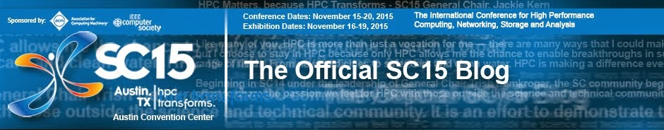 SC15 Official Blog