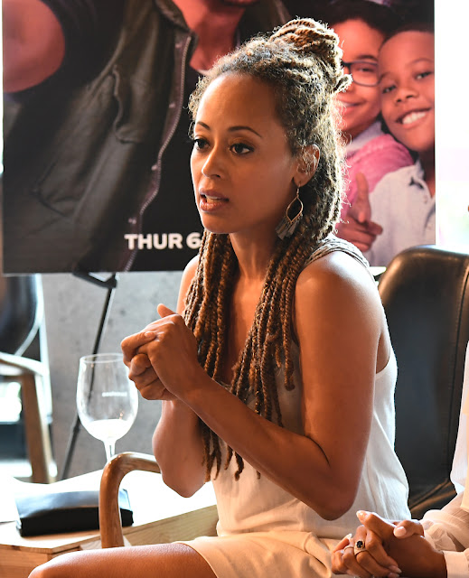 Video: Essence Atkins and Bresha Webb Host Intimate Gathering in Atlanta for NBC's MARLON  via  www.productreviewmom.com