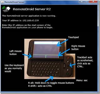 Cara Membuat Hp Android Sebagai Remote PC