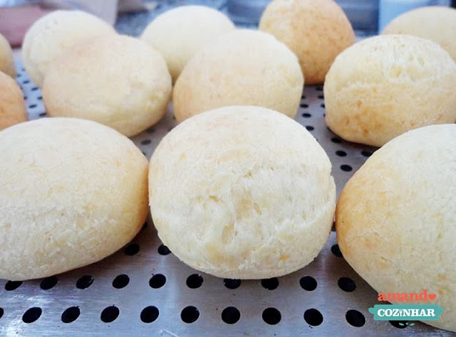 pão de queijo