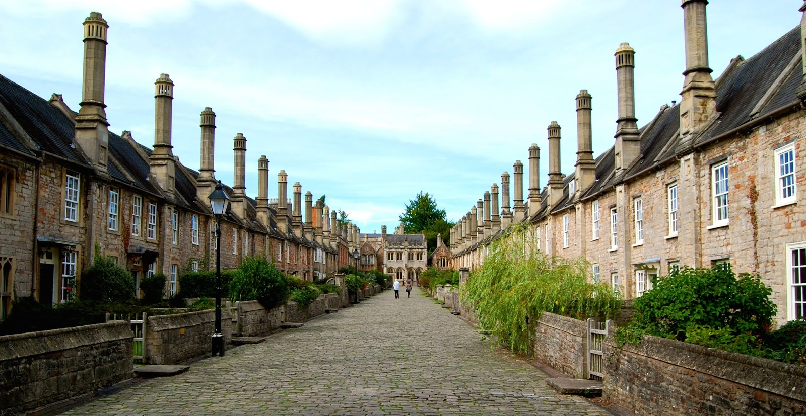 Vicar's Close in Wells, England