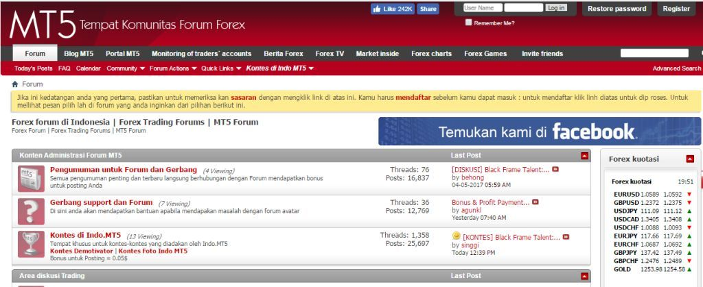 Forex indonesia forum
