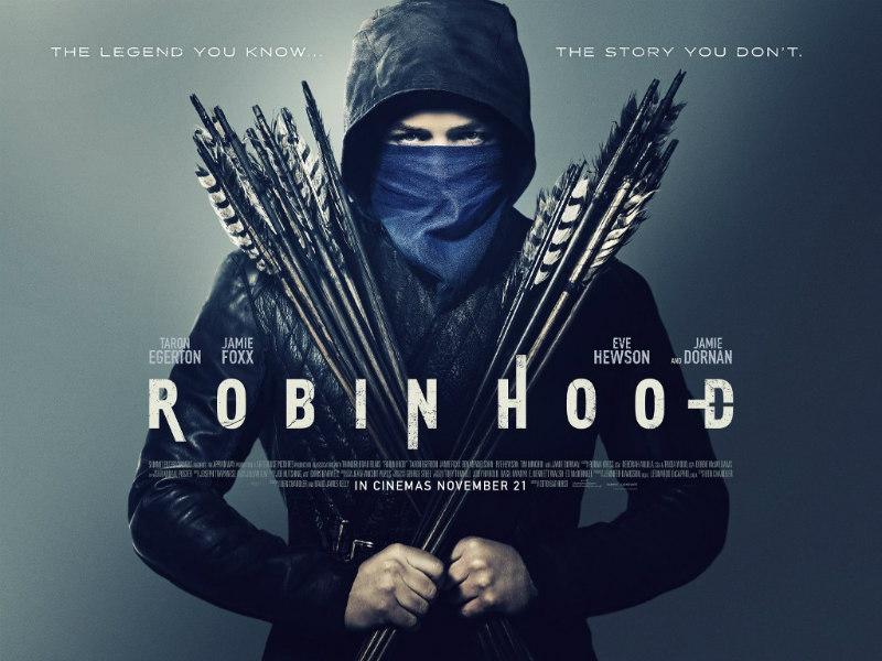 robin hood 2018 poster