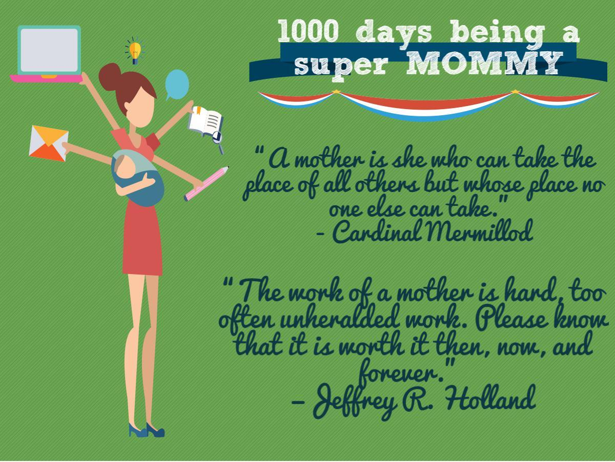 1000 days as a mommy
