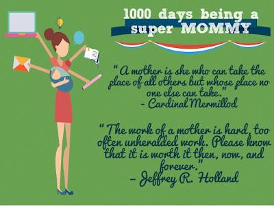 1000 hari menjadi Mommy