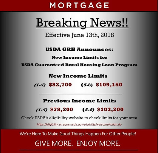 Kentucky USDA Rural Housing Loans : Kentucky USDA Income Limits as of 06/13/2018