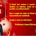 Professor Josué Barbosa deseja Feliz Natal