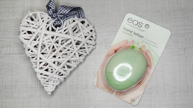 EOS, Cucumber hand lotion, krem do rąk ogórkowy