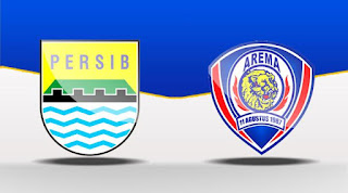 Laga Pembuka Liga 1 Persib Bandung vs Arema FC