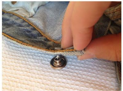 Cara Mengganti Kancing Jeans yang Rusak