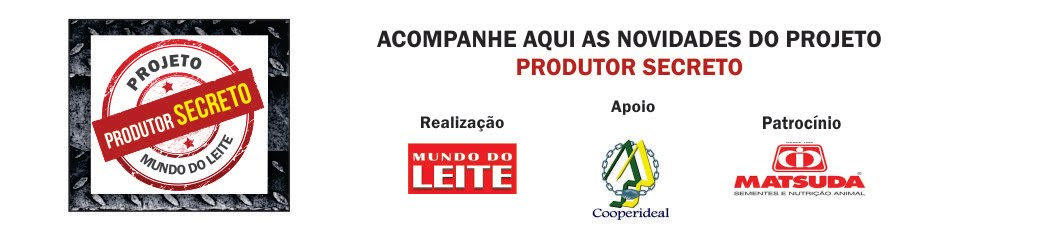 Produtor Secreto - Revista Mundo do Leite