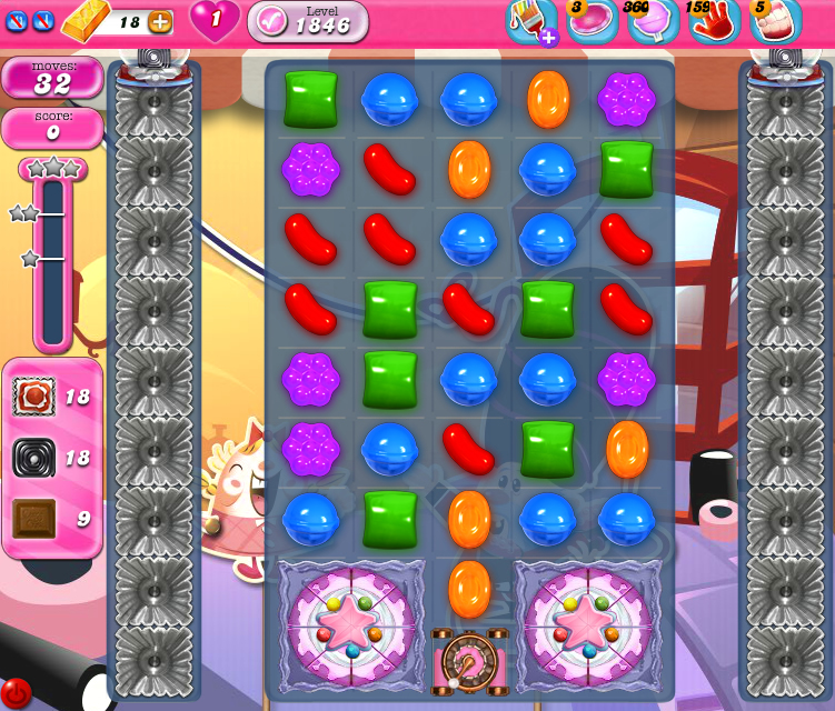 Candy Crush Saga 1846