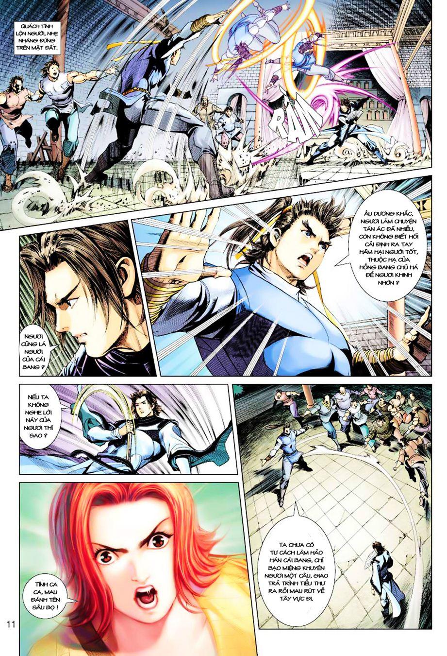 Anh Hùng Xạ Điêu anh hùng xạ đêu chap 35 trang 12