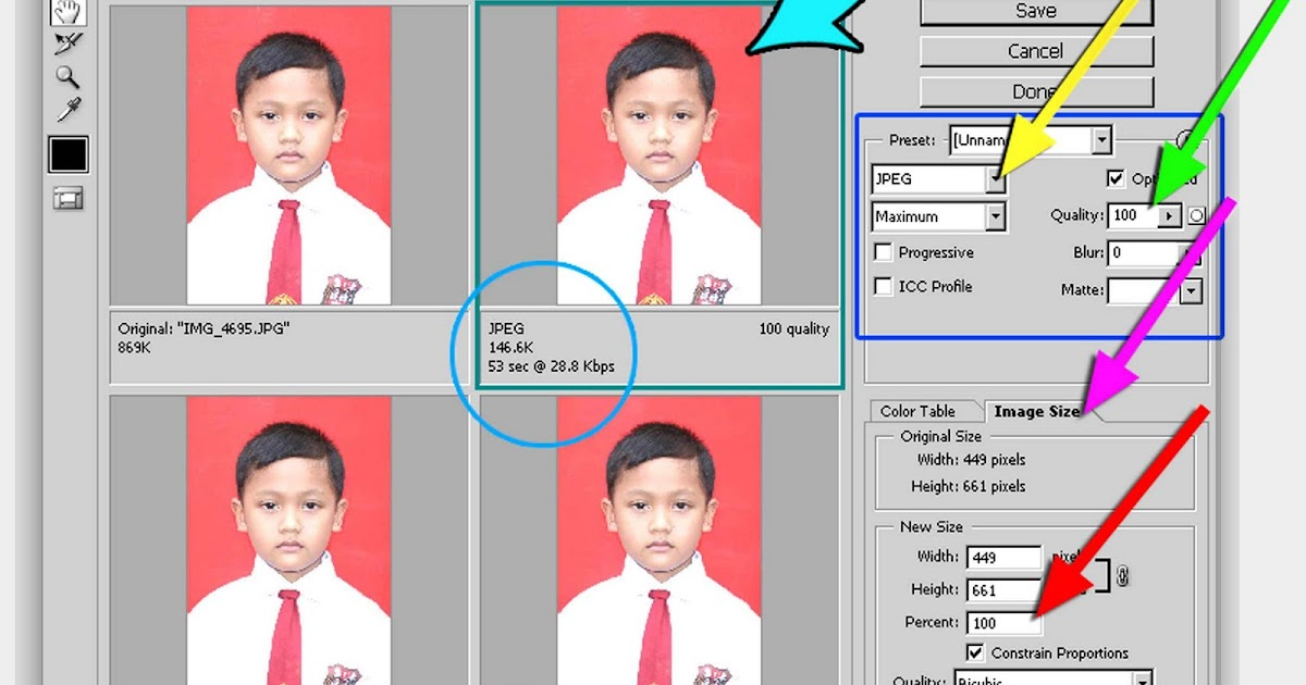 Taurus Boy: Cara memperkecil ukuran file foto