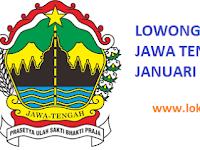 LOKER JAWA TENGAH HARI INI  20 JANUARI 2017