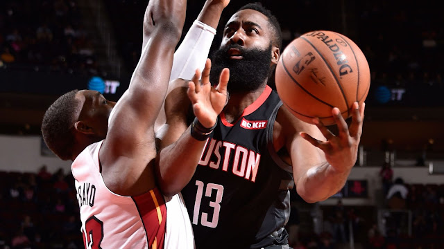 NBA: JAMES HARDEN ATUPIA POINT 58 HUKU ROCKETS WAKIWAUA MIAMI HEAT, WARRIORS WAPOTEZA MECHI YA PILI MFULULIZO
