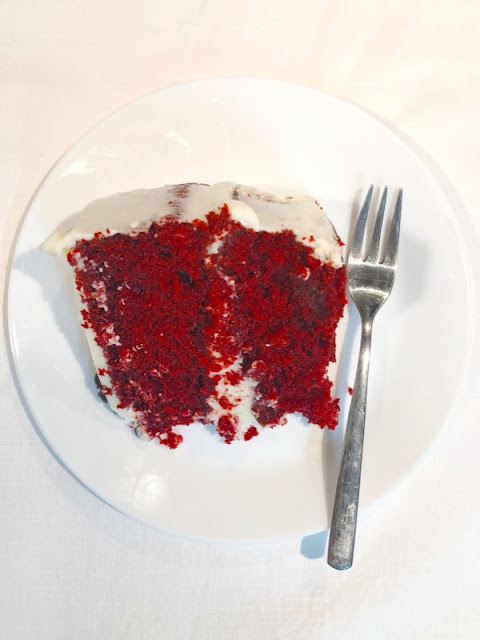 Red velvet cake is so much more than a cake tinted red. This iconic American cake is a masterpiece of flavors, textures, and frosting and this is the ONE & ONLY recipe you will ever need to make the Best Red Velvet Cake with Cream Cheese Frosting at home! - Ioanna's Notebook