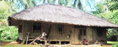Hunian di Kampung Kuta