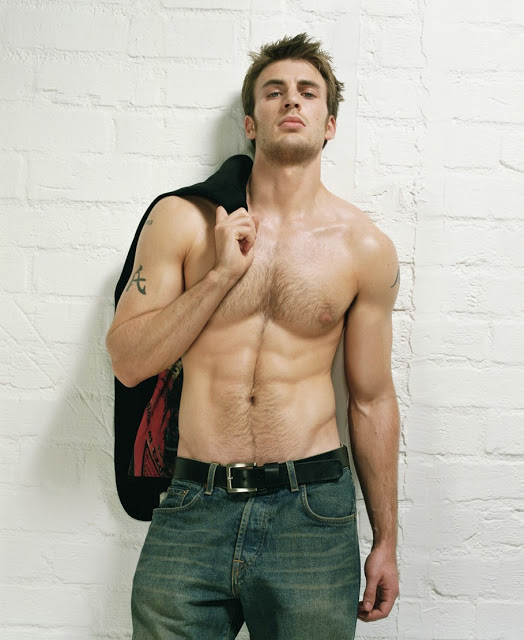 Chris Evans Body Wallpapers