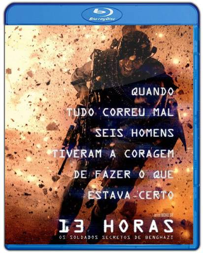 Baixar 13 Horas Os Soldados Secretos de Benghazi AVI Dual Áudio BDRip Torrent