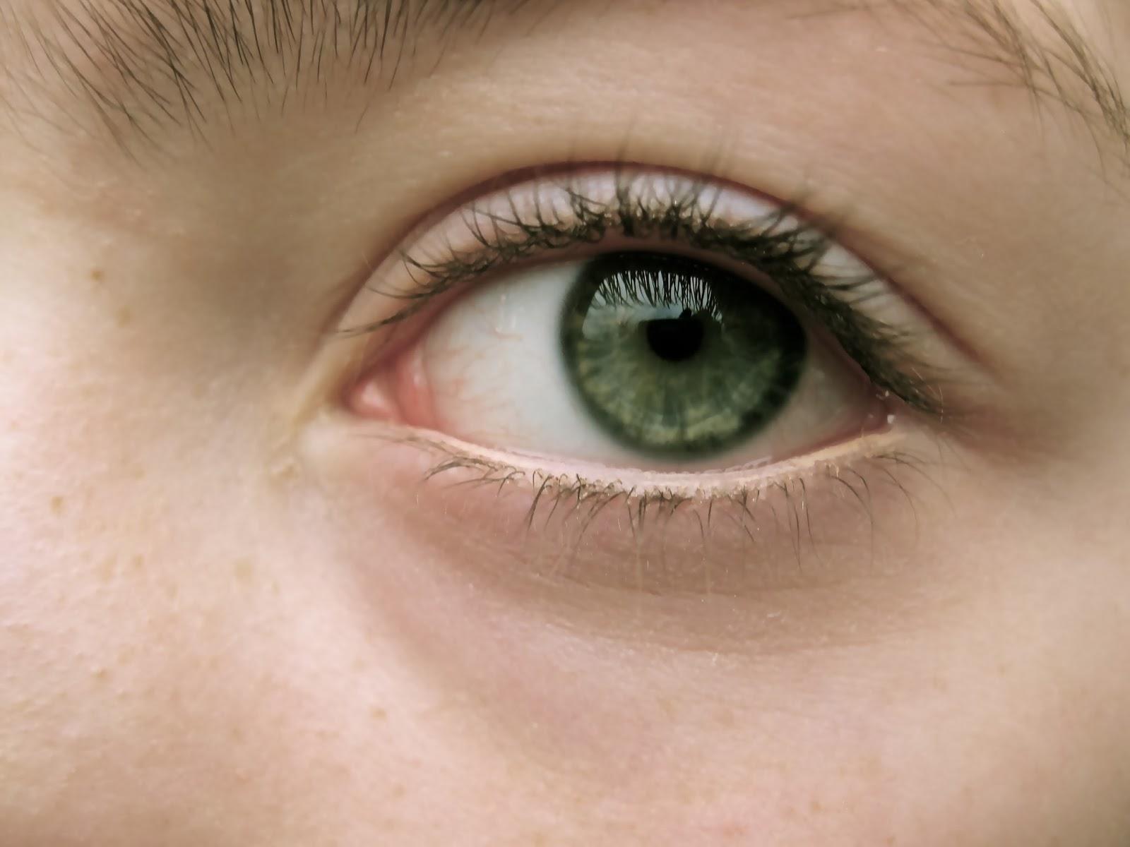 natuurlijke ogen zonder make up