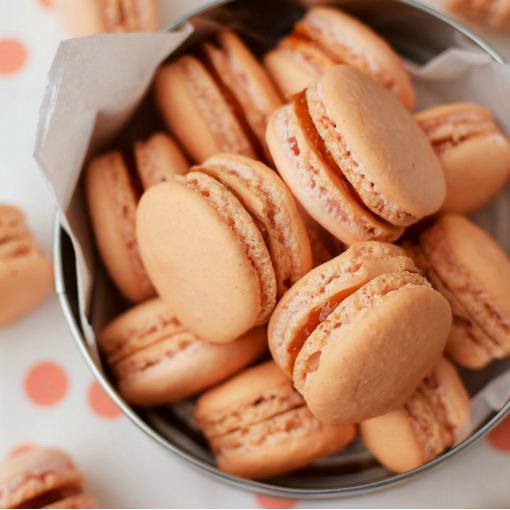 Macaron francés sin harina de almendras