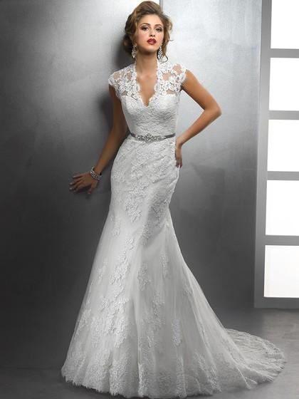 http://www.dressfashion.co.uk/product/trumpet-mermaid-cap-straps-v-neck-lace-sashes-ribbons-white-wedding-dresses-00016155-4199.html?utm_source=minipost&utm_medium=1131&utm_campaign=blog