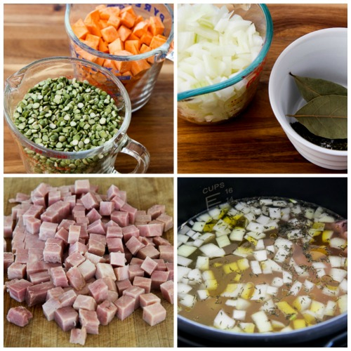 ... Kitchen®: Instant Pot Split Pea Soup with Ham and Sweet Potatoes