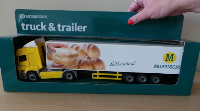 miniatur truk trailer keren