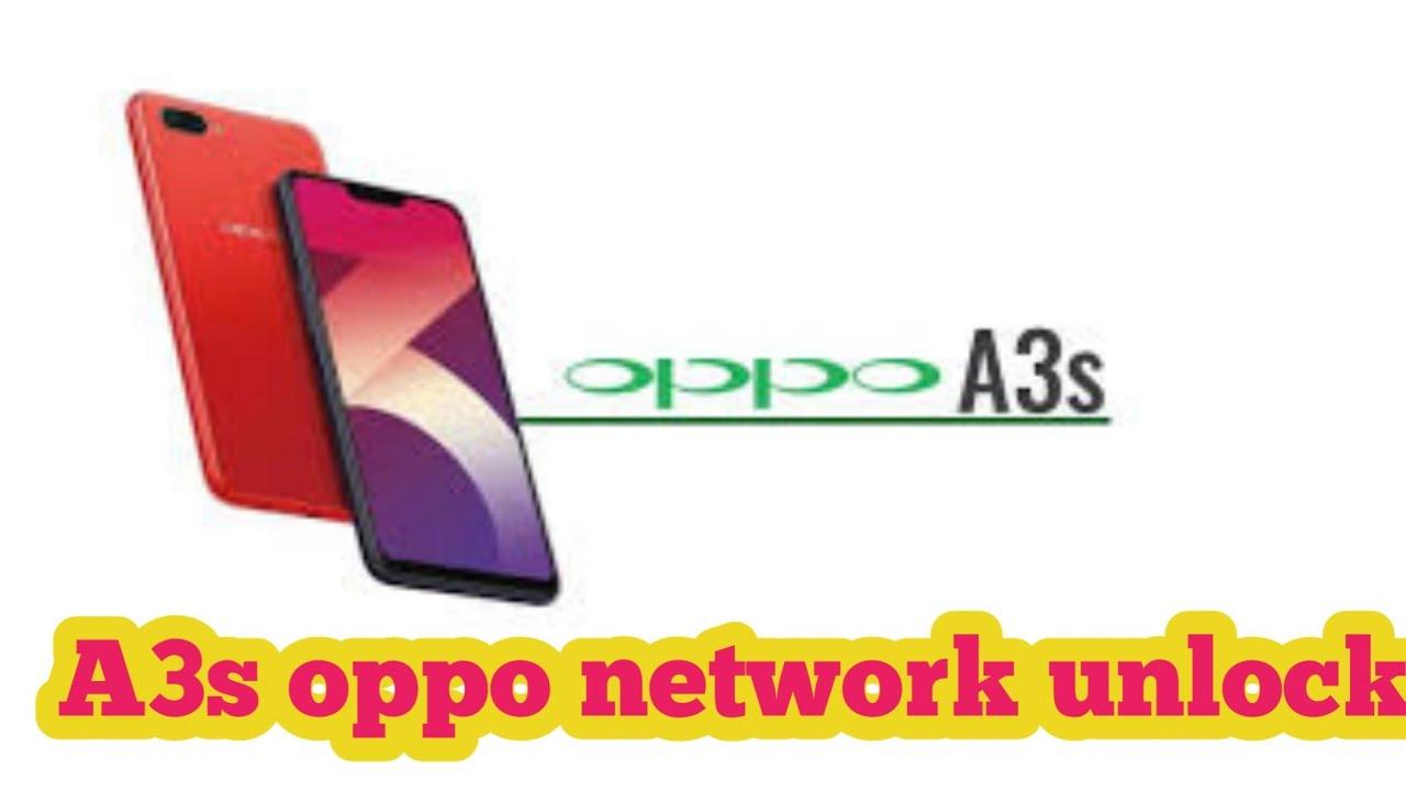 OPPO A3s CPH1803 Network Unlock Qcn File & Unlock CODE - All