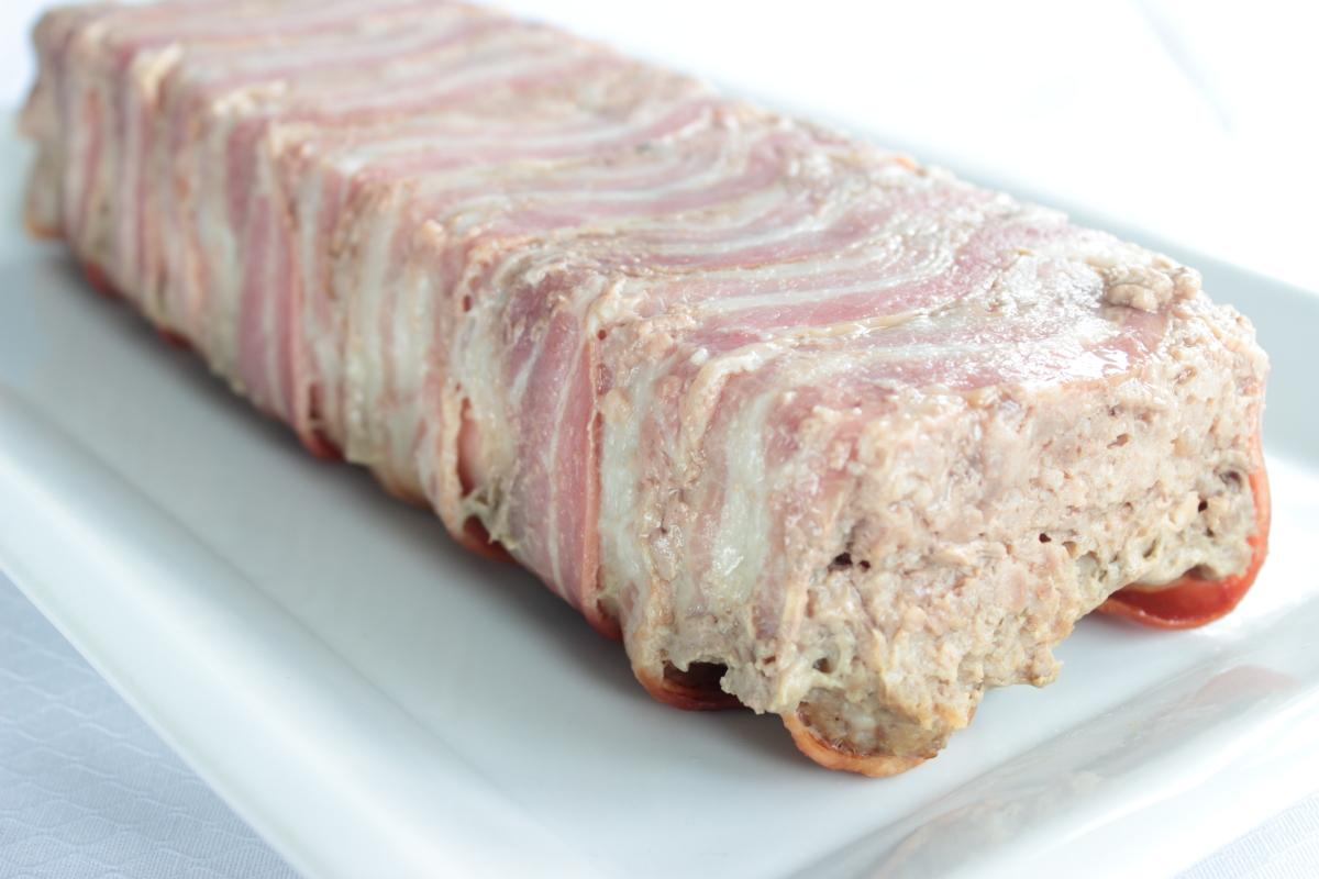 Fiambre de carne picada y pollo