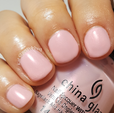 China Glaze Seas and Greetings - Eat, Pink, Be Merry | Kat Stays Polished