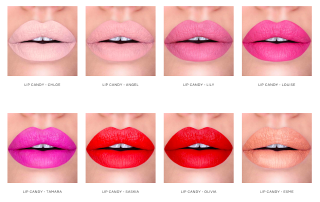 New Candy Coat Lip Candy Lips Collection, Lovelaughslipstick Blog