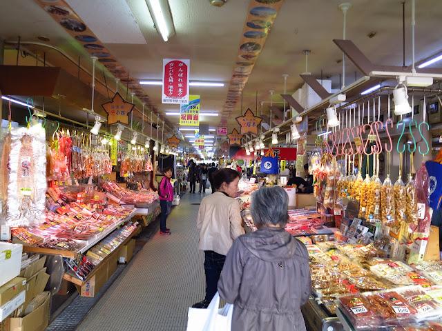 Hokkaido Hakodate morning market. Tokyo Consult. TokyoConsult.