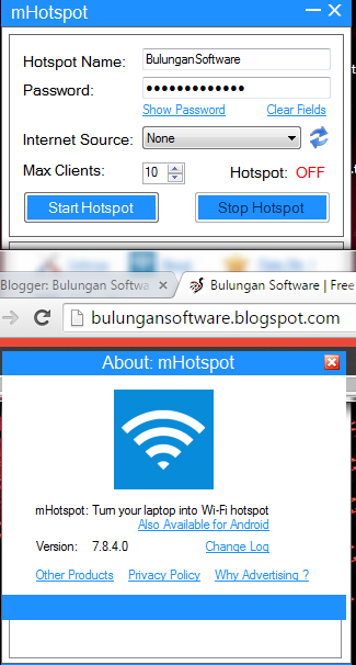 M hotspot free download for windows 7