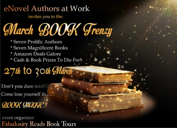 http://fabulosityreadsbookpromotions.blogspot.com/p/enovel-authors-march-book-frenzy.html