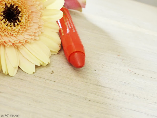 Lolli poppy Color Boost Bourjois rouge à lèvres hydratant baume