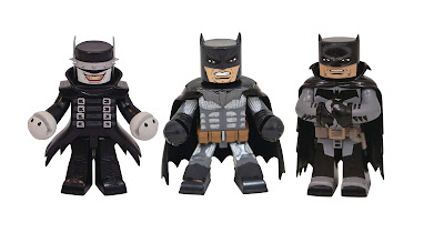 DC Comics Vinimates Series 6 Vinyl Figures by Diamond Select Toys – Batman Who Laughs, Batman: Damned & Batman: White Knight