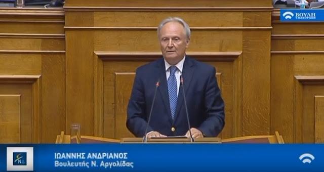 Ανδριανός: Ο Πρωθυπουργός πηγαίνει στην Πρέσπα για να αναγνωρίσει μακεδονική εθνότητα και μακεδονική γλώσσα...