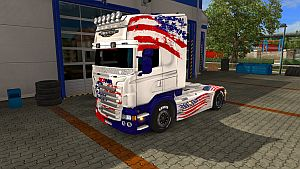 ATS - Coming Soon (skin for Scania RJL)