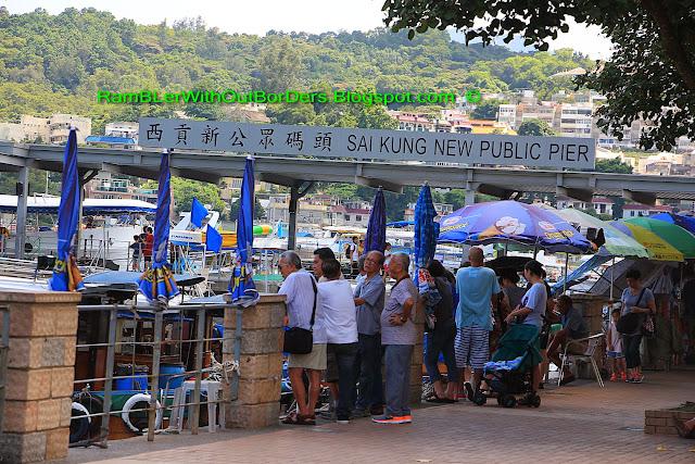 Sai Kung Public Pier, Sai Kun Country Park, Hong Kong